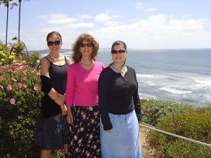Johanna Maheshvari Mosca leads beach, yoga and meditation retreats in Encinitas, CA