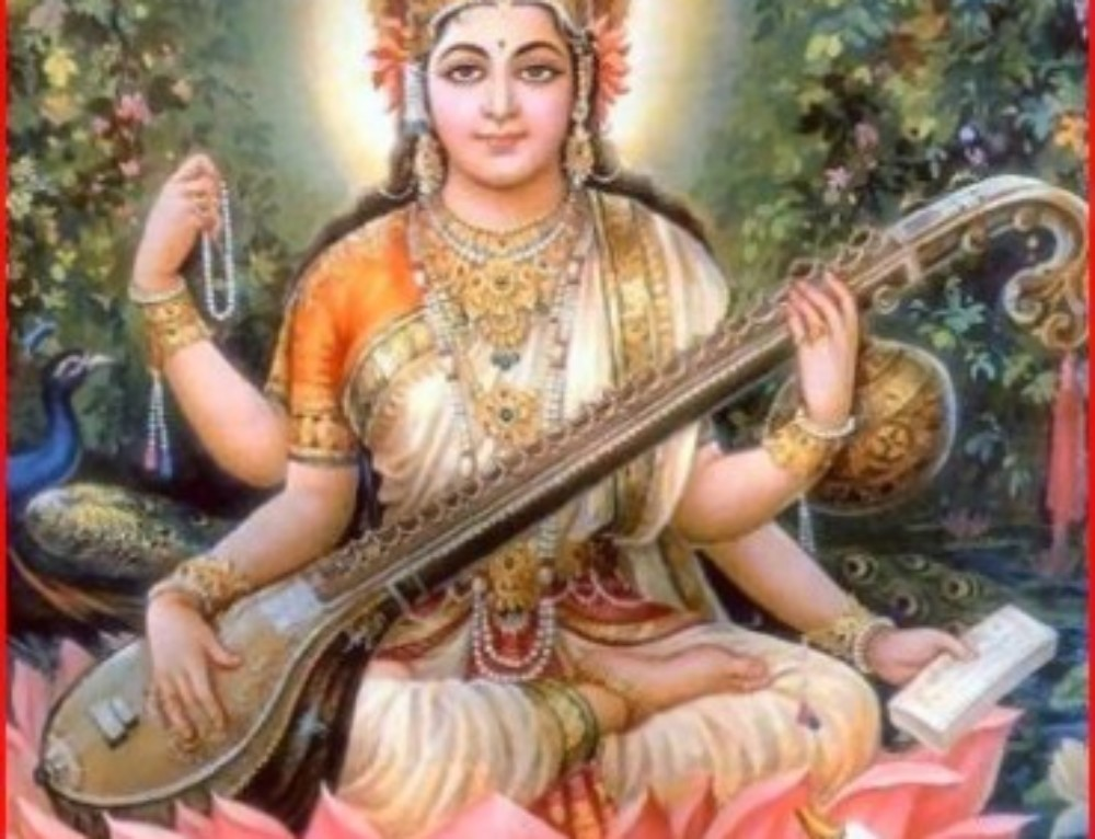 Saraswathi — Goddess of Wisdom and Music