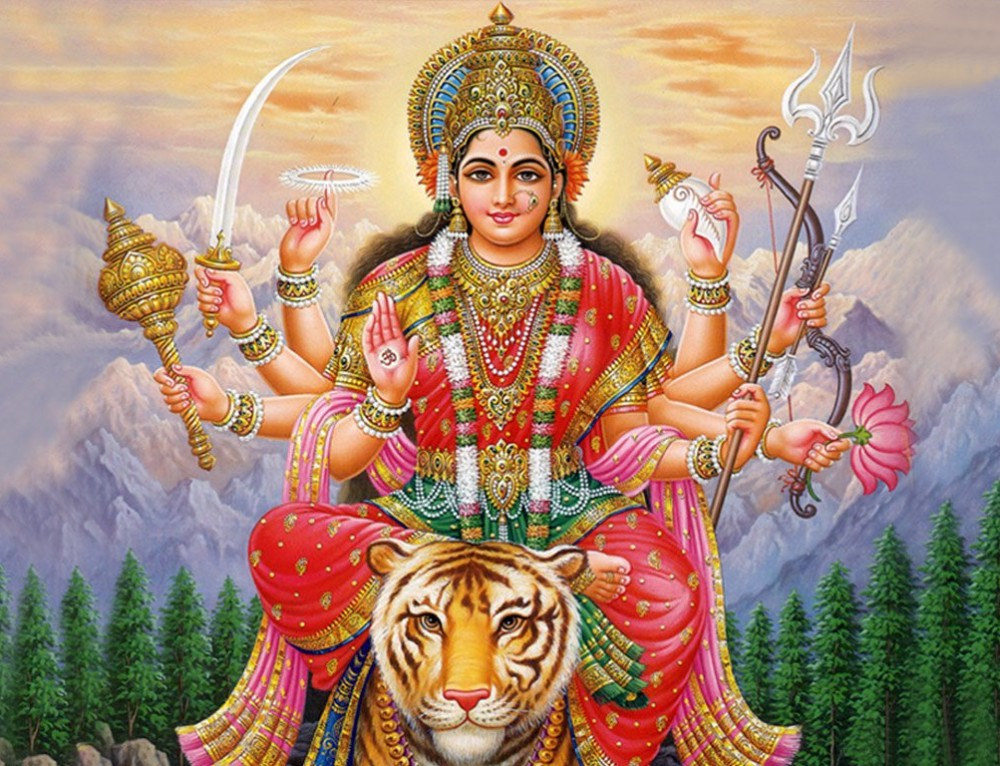 Goddess Durgha, the Divine Protectress