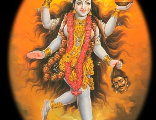 Goddess Kali, the Protectress