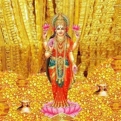 Lakshmi Goddess Of Beauty Luxury And Wealth Yogalife